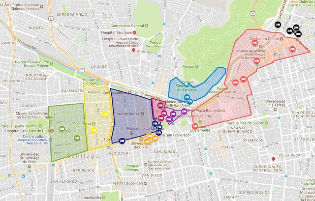 Melhores bairros de Santiago, Chile